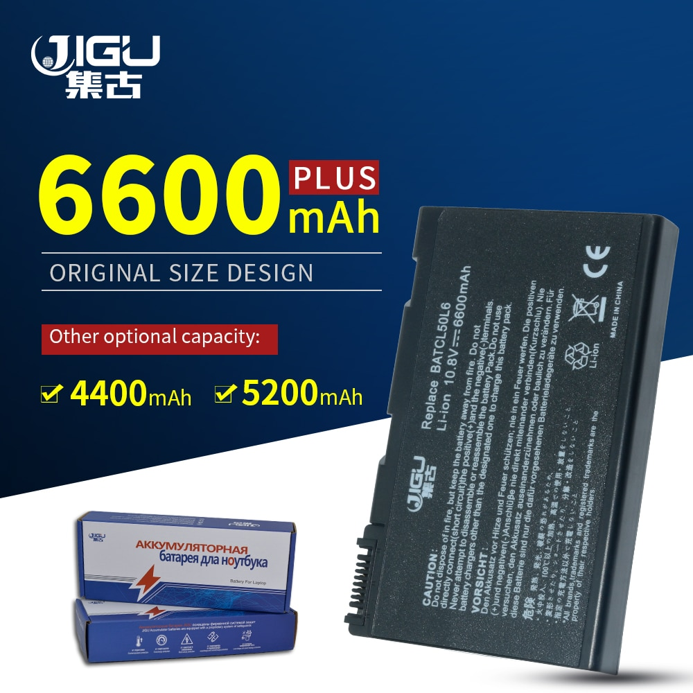 JIGU-Batería de portátil para Acer Aspire 3100, 5100, 9110, serie, BATBL50L6, BATCL50L6,...
