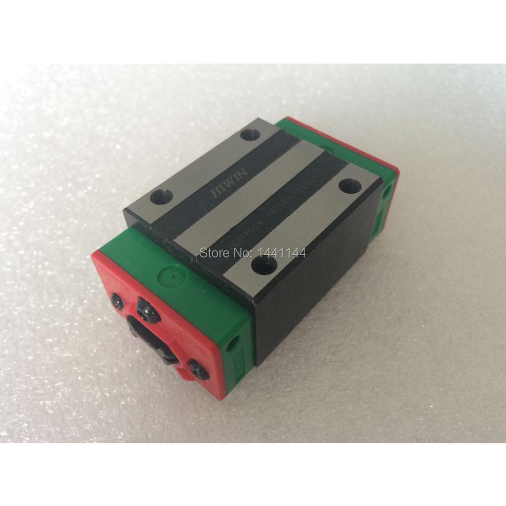 1 unidad HGH15CA 100% nuevo Original HIWIN marca lineal bloque guía para carril lineal HIWIN HGR15 piezas CNC