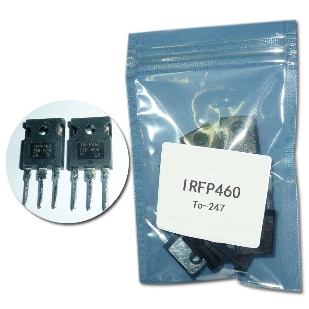IRFP460 channel effetto di campo tubo IRFP460 20A/500 V/0.27ohm/280 W TO-247 5 pz/lotto