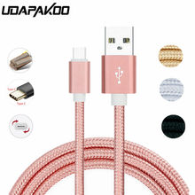USB Type C Nylon Fast Charging Cord Charger for huawei p9 p10 p20 mate 10 pro lite samsung Galaxy S1