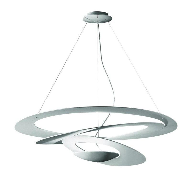 Bdbqbl girando luzes pingente de ferro simples r7s lâmpada pingente café restaurante cabo droplight originalidade pós-modernismo hanglamp