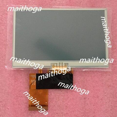 Tianma 4.3 polegada 40 p tft lcd tela com painel de toque tm043nbh02 wqvga 480 (rgb) * 272