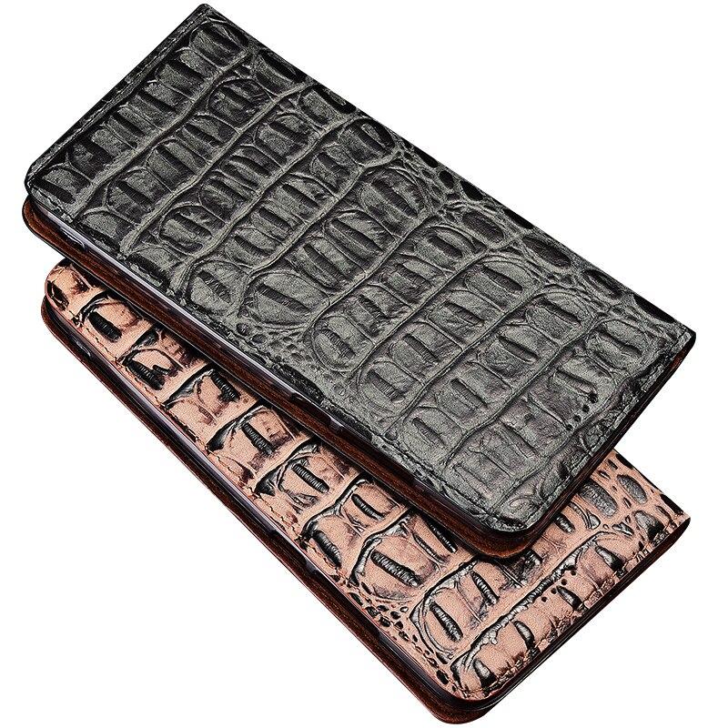 جراب جلد تمساح ثلاثي الأبعاد لهاتف One Plus ، جراب مع رفرف لهاتف Oneplus 1 ، 2 ، 3T ، 5 ، 6T ، 7 ، 7T ، 8 ، 8T Pro