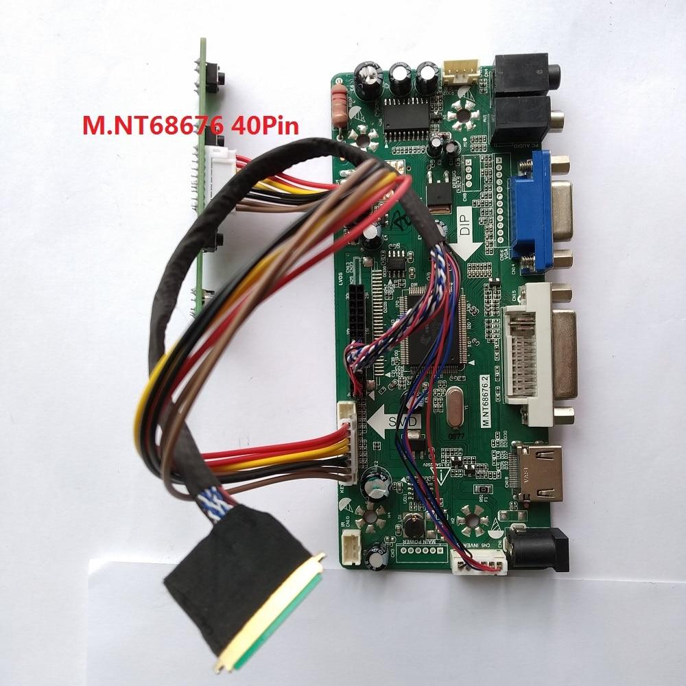 Набор для B156XW02/LTN156AT02 плата контроллера панель экрана VGA DVI HDMI LCD 15,6