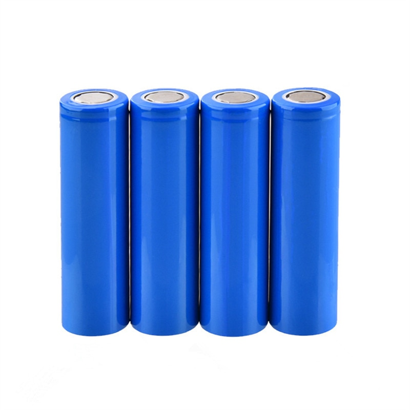 JY-FIRE 10 unids/lote 18650 baterías recargables 1500 mah 3,7 V Li-ion capacidad real 1500 mah