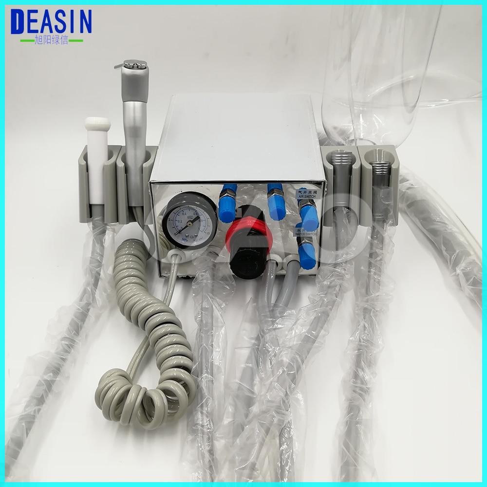 DEASIN-ضاغط هواء محمول لتوربينات طبيب الأسنان ، أنبوب قبضة طبيب الأسنان مع 3 اتجاهات ، 4 فتحات أو 2 فتحة
