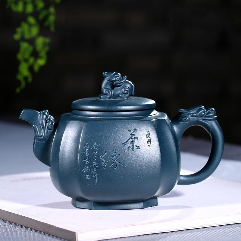 TaoYuan violet violeta arenáceo famoso TaoShun mano pura, recomendado la tinta de tetera clorita sifang tenglong 430 cc
