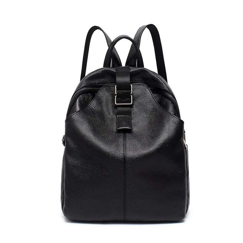 حقيبة ظهر جلدية نسائية 9812-D ، حقيبة كتف ، حقيبة سفر ، شخصية ، عصرية ، جديدة