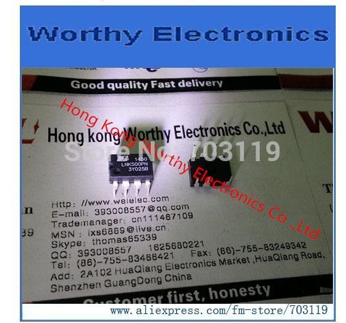 Envío gratis 10 unids/lote LNK500PN LNK500P IC SWIT OCP CV/CC HV 8DIP