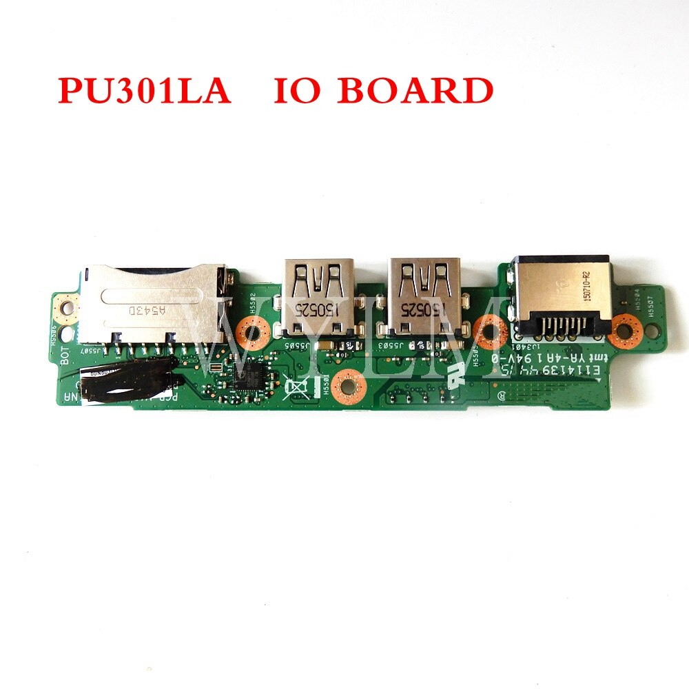 PU301LA IO_board REV 2.01  for ASUS PU301 PU301L PU301LA IO USB SD CARD Network card board Test well
