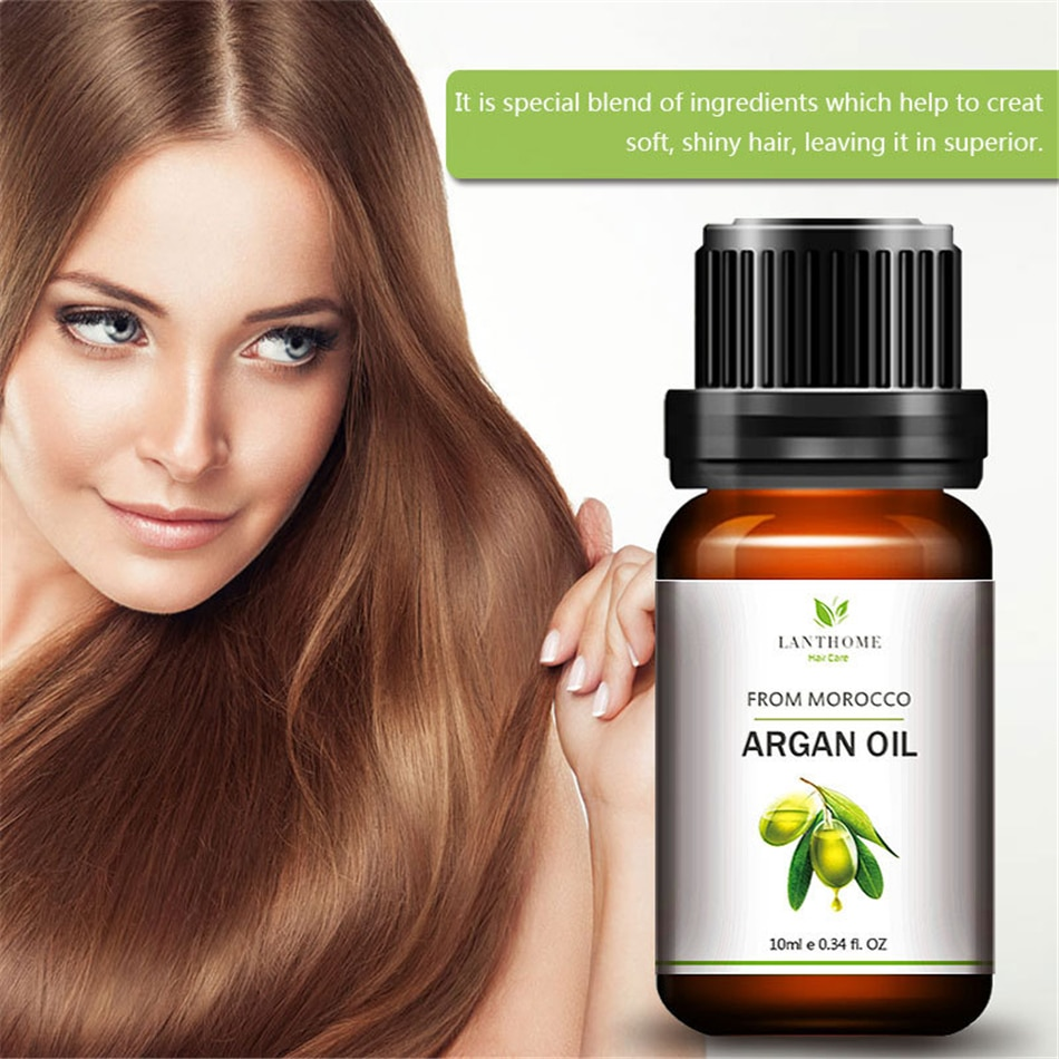2 uds. De elementos naturales de aceite de argán marroquí para el tratamiento del cuero cabelludo, esencia para evitar el Frizz, mascarilla hidratante para el cabello para restaurar el cabello dañado