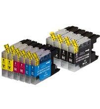 10 Pack LC71 LC75 Compatibele Inkt Cartridge voor Brother MFC-J280W J425W J430W J435W J5910DW J625DW J6510DW J825DW J835DW Printer