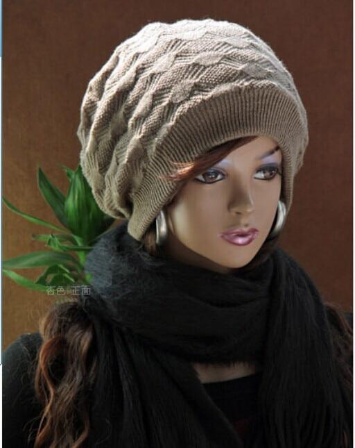 1 Uds 2017 versión coreana cálido invierno tejer gorras moda hombres y mujeres gorros lana sombrero 8501