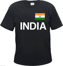 India T-Shirt -  - with Flag Print - S  3XL - Indian  Delhi Hindi