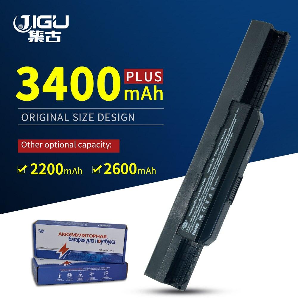 JIGU bateria do laptopa asus X43BY K84 P43F K53JC X43S P53 K53JT X44C K84L Pro4H X53BY Pro4H K53S X84HR K53JF serii X43E