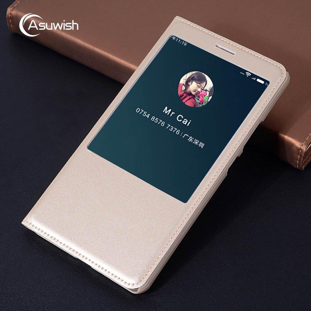 Funda de cuero con tapa de Vista inteligente magnética para Xiaomi Mi Max 1 2 3 Mimax Pro Mimax2 Mimax3 Max2 Max3 Xiomi Xaomi
