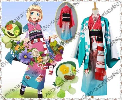 Ao no Blue Exorcist Shiemi Moriyama Cosplay Costume Custom Made