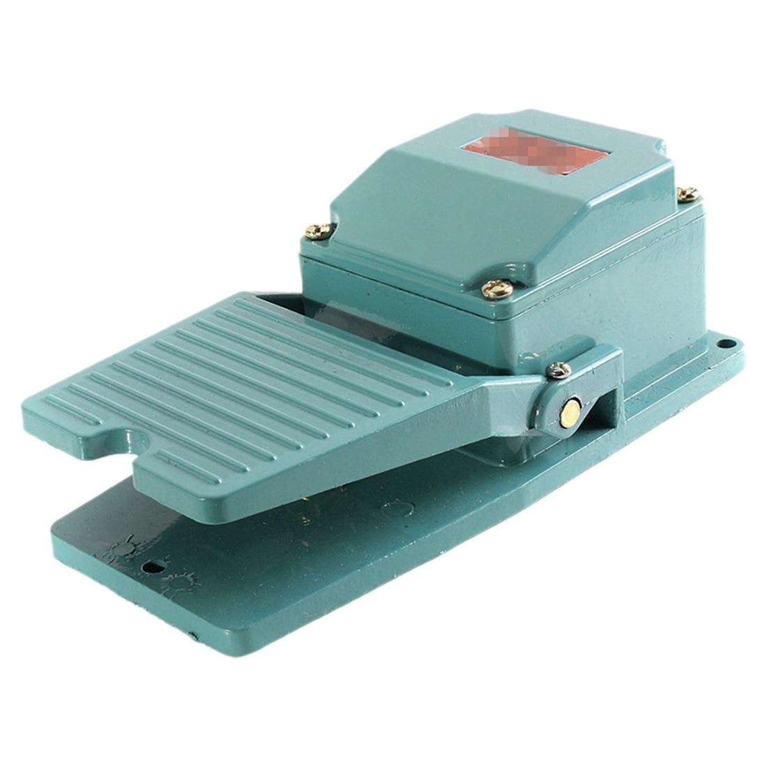 Novo contato momentâneo de metal pedal antiderrapante pedal pedal pedal pé industrial ac 250 v 15a
