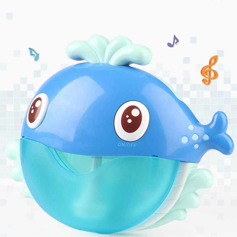 Ao ar livre Fabricante de Bolha máquina de bolha Sapo & Caranguejos Brinquedo Do Banho Do Bebê de Natação Banheira Sabão Máquina de Brinquedos para As Crianças Com Música