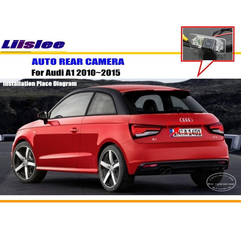 Автомобильная камера заднего вида для Audi A1 2010 2011 2012 2013 2015 Автомобильная камера заднего вида HD CAM