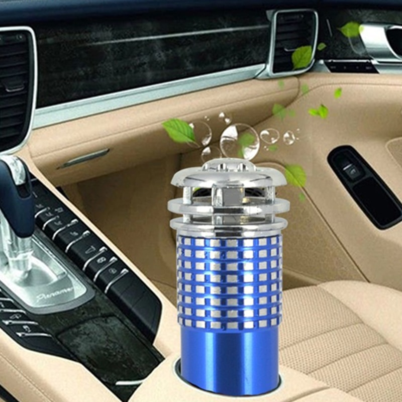 Purificador de aire para vehículo caliente 6V Mini Auto purificador de aire fresco Anion iónico oxígeno Bar ozono ionizador limpiador accesorios de coche
