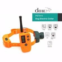 Collier dentraînement à télécommande pour chiens   Collier dentraînement pour animaux domestiques rechargeable, collier de chasse pour chiens, entraîneur de chiens, choc électrique, pas de collier, anti-aboiements