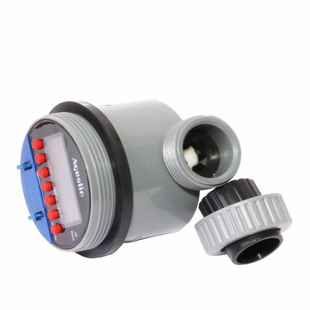 Pemasa penyiraman automatik dengan paparan LCD pemasa air injap bola - Peralatan berkebun - Foto 6