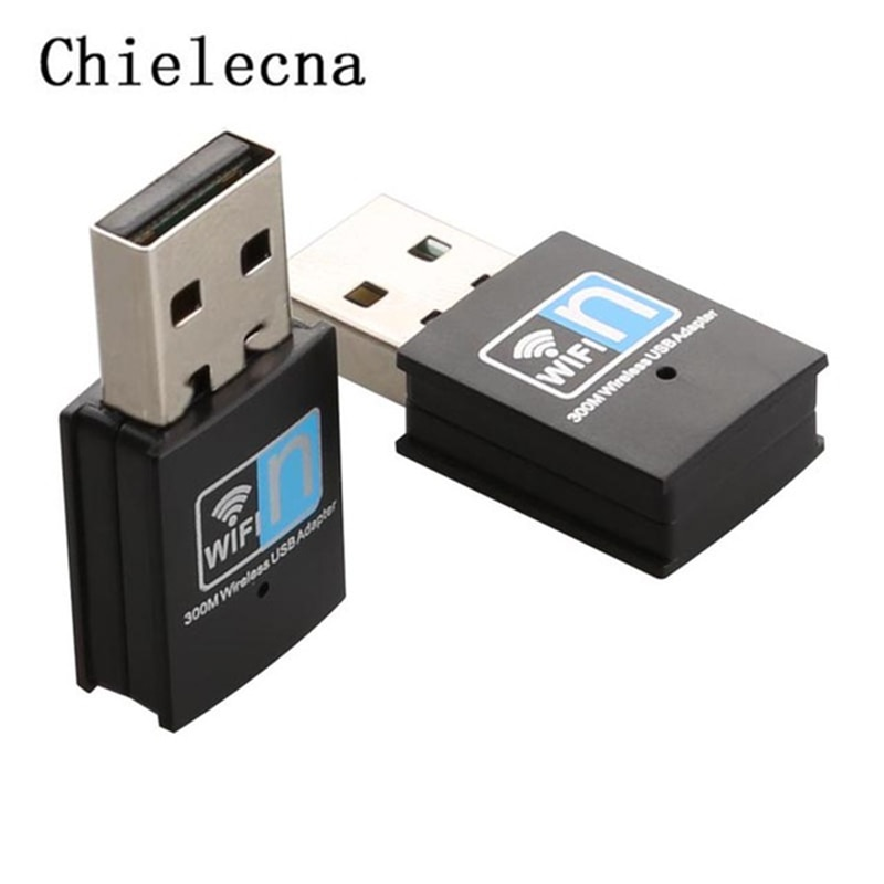 Chielecna 300 Mbps USB Wifi Netzwerk Karte Adapter Wireless Wifi TV Sender Antenne Mini USB Router WI-FI LAN Adapter Internet