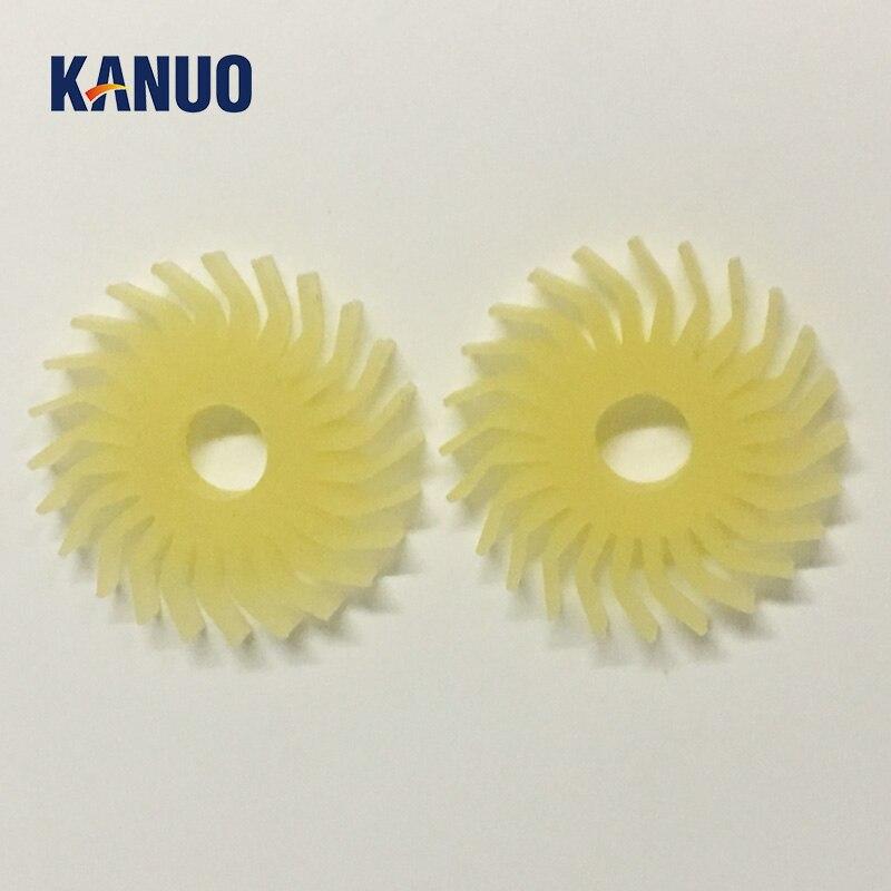 Rodillo de eyección A058613 A058613-01 O24T para Noritsu QSS29/32/34/37 Series Minilab (2 unids/lote)