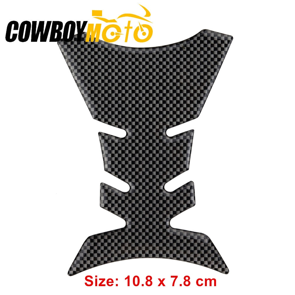 Wholesale 8pcs/set Carbon Black Mini Motorcycle Fuel Gas Tank Pad Protector Sticker Decals For Honda CB CL CBR CBF