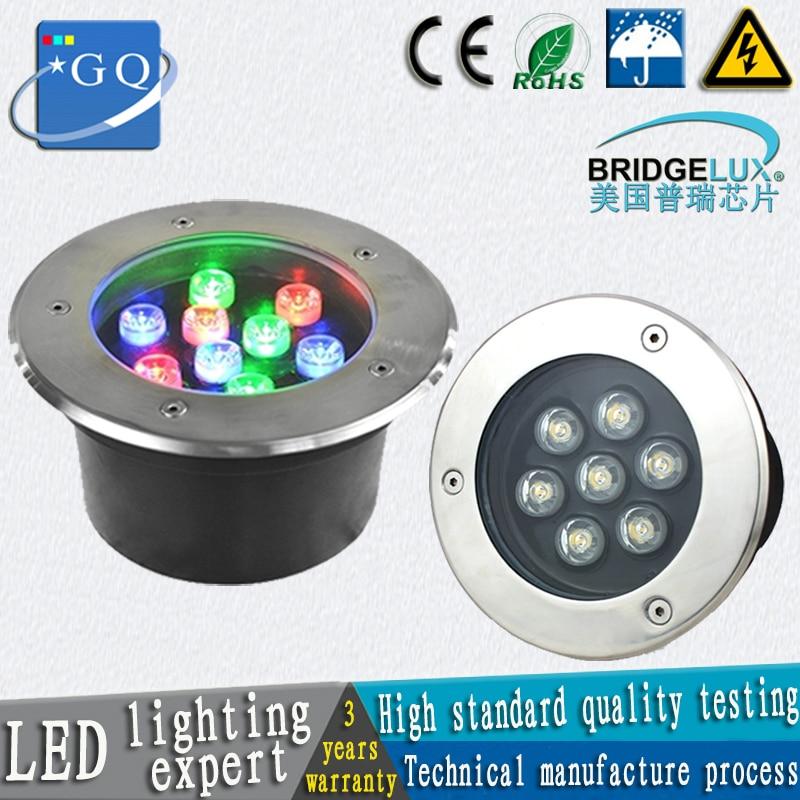 20pcs/lot 5W LED underground light 5W Buried lighting LED outdoor lamp light 85-265v 12v 24v