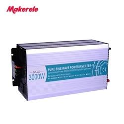 MKP3000-122B high quality off-grid pure sine wave power inverter 12v to 220v converter 3000watt solar power inverter
