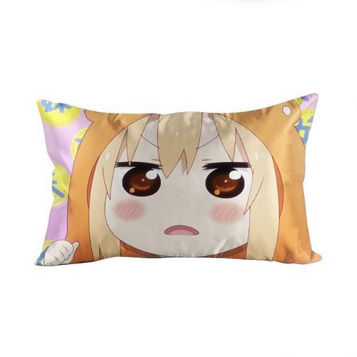 Funda de almohada rectangular de 40x70cm para Hobby Express Umaru doma-himuto umar-chan Anime Waifu Dakimakura GZF51