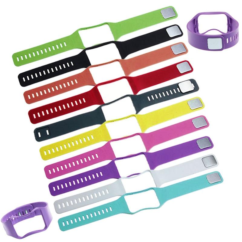 Odog Black Soft TPU Wrist Strap Wristband for Samsung Galaxy Gear S R750 Wrist Bracelet Watchband Smart Watch Accesory