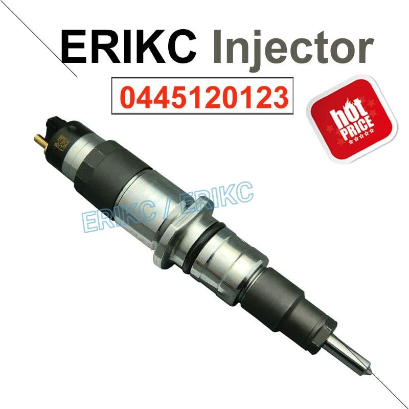 ERIKC 0445120123 Common Rail Diesel Engine Injector 0445 120 123 Auto Fuel Dispenser Injection 0 445 120 123 For CUMMINS 4937065