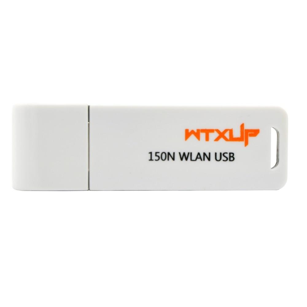 WTXUP RaLink RT3070 Mini 150Mbps WiFi inalámbrico adaptador USB WPS Dongle Wi-Fi para Windows 7/8/10/TV blanco