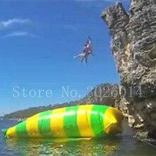 Envío Gratis 11*3 m de PVC de salto de agua de catapulta hinchable de salto Blob inflable de agua