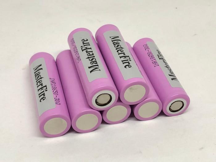 MasterFire 8 teile/los Original 18650 3000mah Li-Ion Batterie INR18650 30Q 20A Entladung Lithium-Akkus Für Samsung