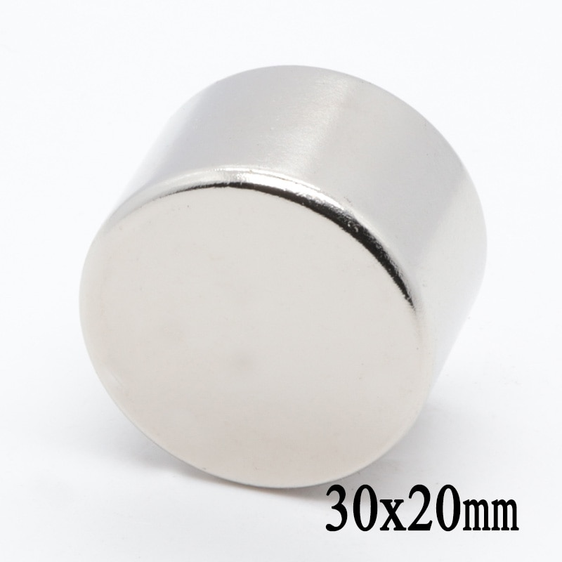 100 pieces 9x5 mm strong rare earth ndfeb neodymium magnet n35 small round super strong powerful magnetic magnets disc 2pcs 30x20 mm N35 Round Craft Neodymium Magnets Super Strong 30mm*20mm Powerful Rare Earth Magnet