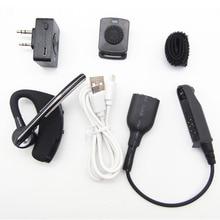 Nieuwe K-Head Bluetooth Draadloze Oortelefoon Ptt Microfoon Headset Met Kabel Adapter Voor Baofeng BF-9700 A-58 UV-XR UV-9R Radio accessoires