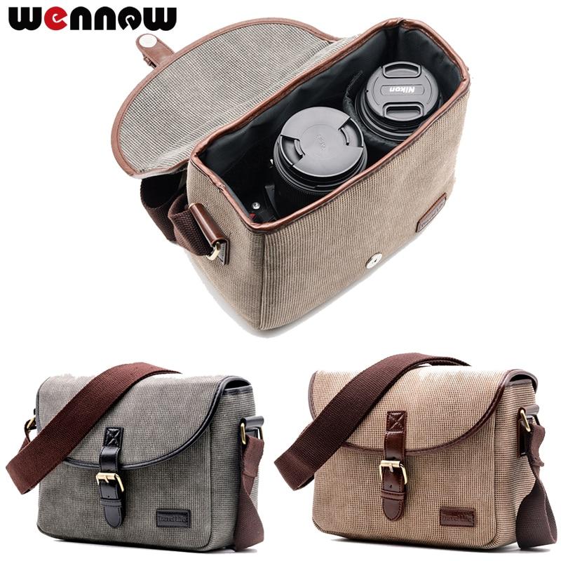 Wennew Retro Kamera Tasche Foto Fall für Olympus OMD EM1 EM5 EM10 OM-D E-M1 E-M5 E-M10 Mark III II 3 2 E-600 E-550 E-520 E-500