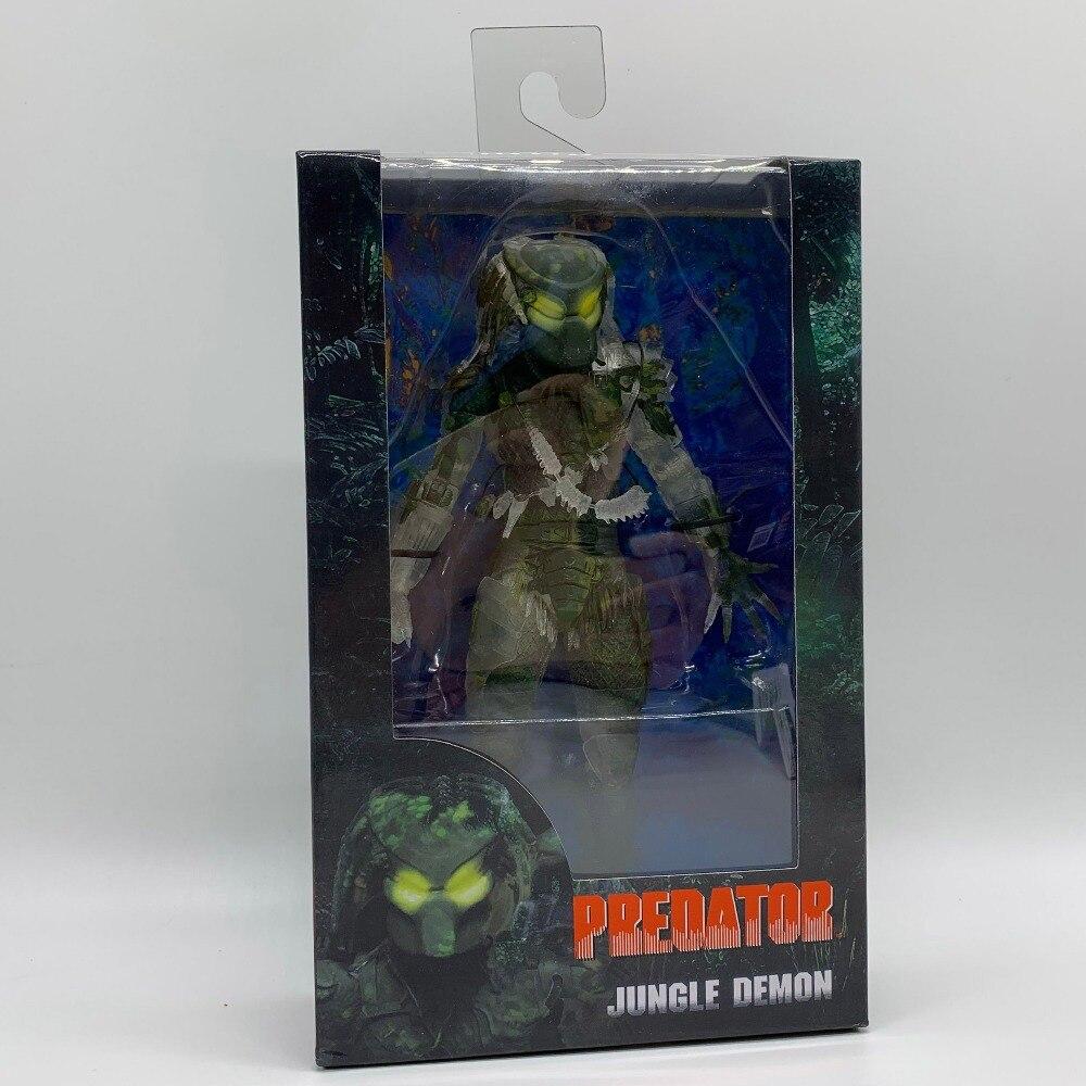 "Jungle Demon Predator Action Figure Doll 30th Anniversary Alien Hunter PVC Toy 8"""