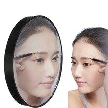 Nouvelle offre spéciale Portable 10X énorme miroir de maquillage cosmétique grossissant avec ventouses miroirs grossissants idéal pour le maquillage