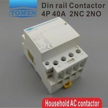TOCT1 contacteur modulaire ac domestique   4P 40A 2NC 2NO 220V 400V ~ 50/60HZ Din rail,