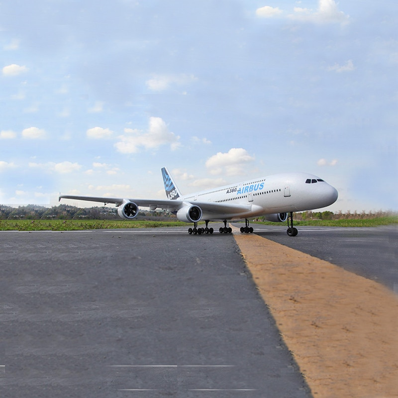 RC AirPlane Airbus A380 4CH 55cm EDF 2.4G Radio Control Plane EPO Brushless Motor Professional Aircraft Model Toys