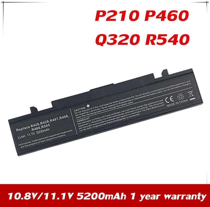 Bateria para Samsung Xinbox P460 Q320 R540 Rf511 Rv409 Rv509 Sf410 Rv420 Rv440 Rv509i Rv520 Rv540 Rv72 Np-r540 7 Np-sf411 P210