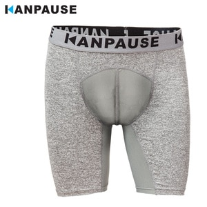 New Arrival  KANPAUSE Men's Drip-dry Compression Tights Shorts Fitness Running Training Shorts Breathable Sportswear