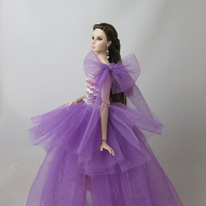dress for barbie doll princess dresses gown party evening dress sexy handmade barbie doll clothes accessories fashionistas toys