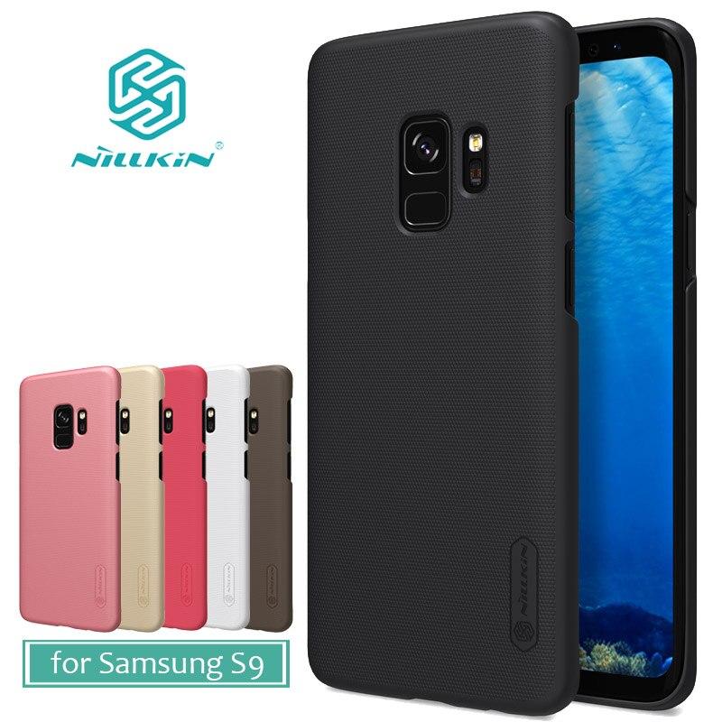 Para Samsung Galaxy S9 funda Nillkin Super Frosted Shield mate duro PC cubierta funda para Samsung Galaxy S9 Nilkin funda de teléfono