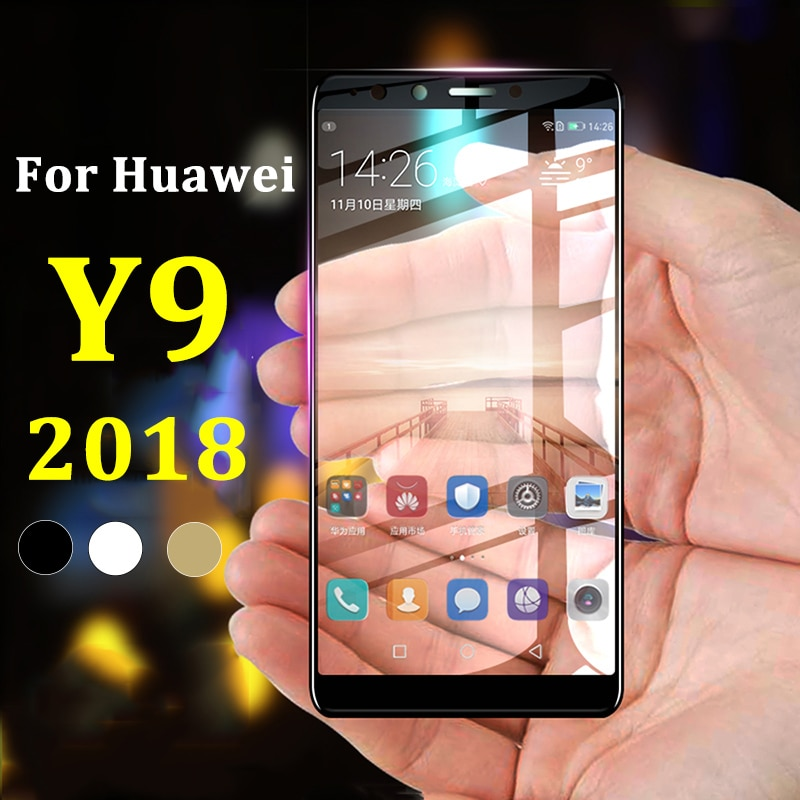 Glass For Huawei Y 9 2018 Protective Glass For Huawei Y9 2018 9Y On honor Huawie Huawey Huawai Huavie safety Tempered Glas Film